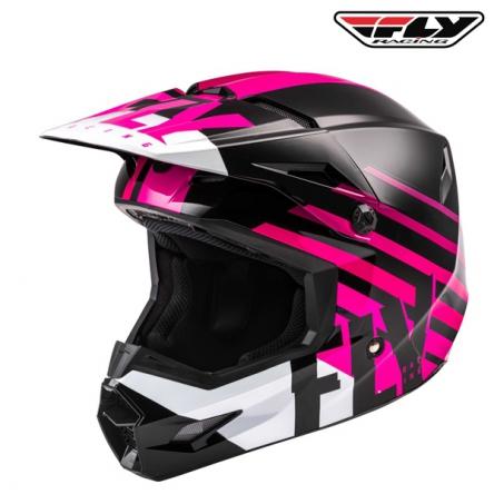 Helma FLY RACING Kinetic Thrive (růžová/černá)