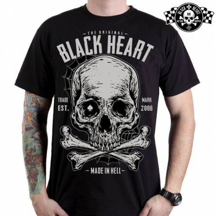 Tričko pánské BLACK HEART Bonner