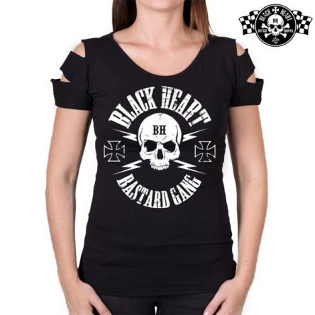 Tričko dámské BLACK HEART Destroy Bastard