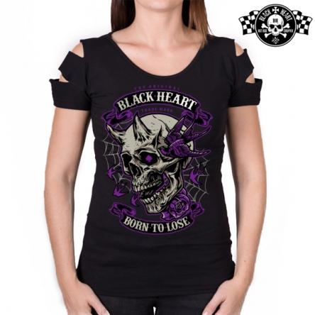 Tričko dámské BLACK HEART Destroy Empire