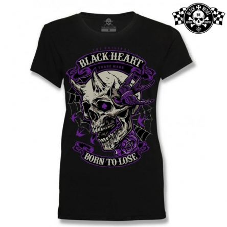 Tričko dámské BLACK HEART Empire