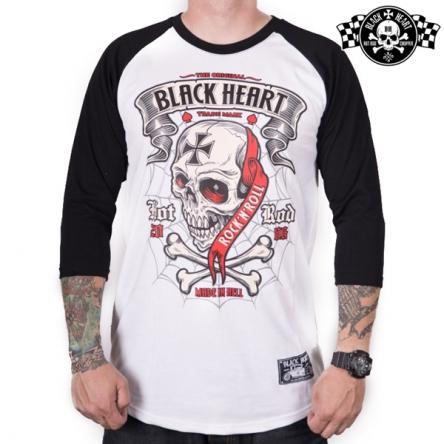 Triko pánské BLACK HEART Crusty Demons WHT