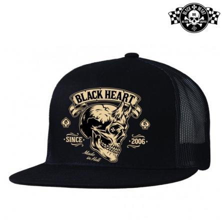 Kšiltovka BLACK HEART Devil Skull
