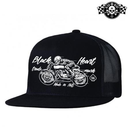 Kšiltovka BLACK HEART Vintage