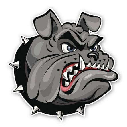 Nálepka Bulldog