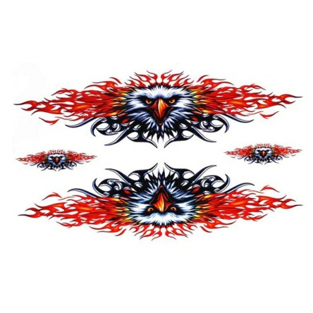 Nálepka Burning Eagle