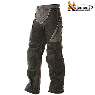 Kalhoty XELEMENT BIKER ADVANCED BLACK