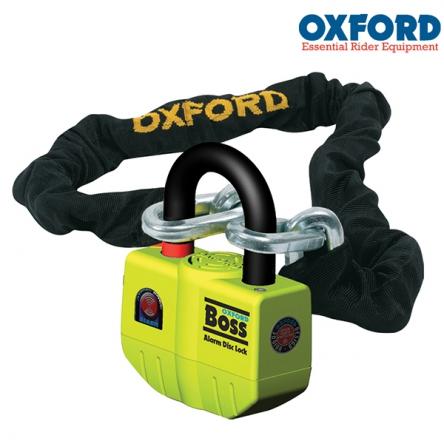 Zámek řetězový OXFORD Boss Alarm - 1,5M