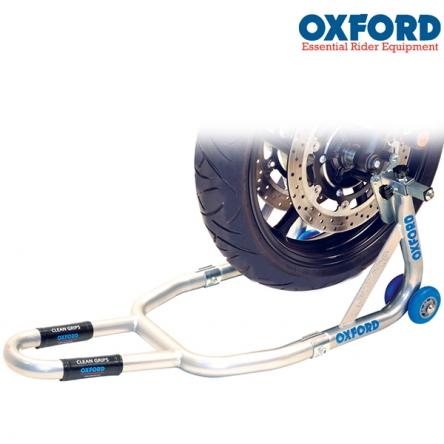 Stojan na moto OXFORD Paddock - přední
