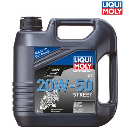 Motorový olej MOTORBIKE 4T 20W-50 STREET - 4L