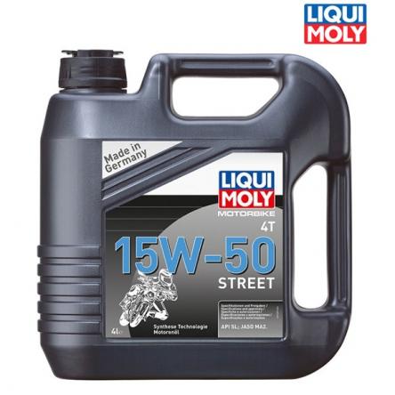 Motorový olej MOTORBIKE 4T 15W-50 STREET - 4L