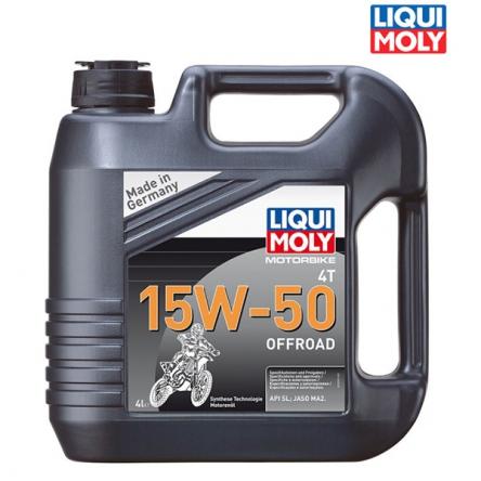 Motorový olej MOTORBIKE 4T 15W-50 OFFROAD - 4L