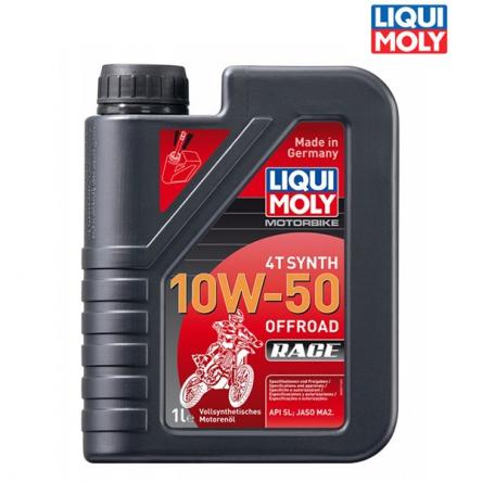 Motorový olej MOTORBIKE 4T SYNTH 10W-50 OFFROAD RACE - 1L