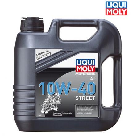 Motorový olej MOTORBIKE 4T 10W-40 STREET - 4L