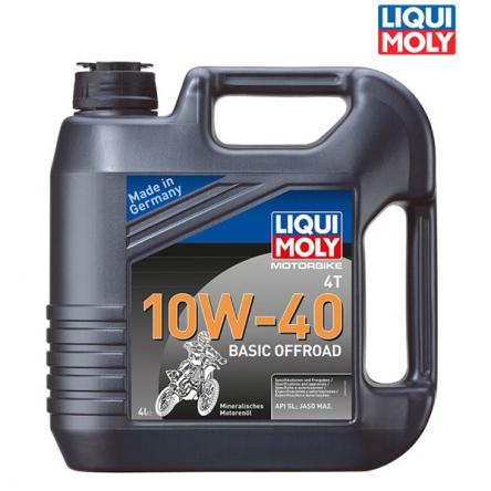 Motorový olej MOTORBIKE 4T 10W-40 BASIC OFFROAD - 4L