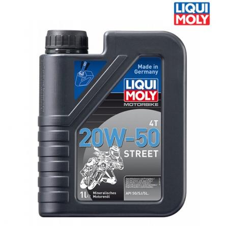 Motorový olej OLEJ MOTORBIKE 4T 20W-50 STREET - 1L