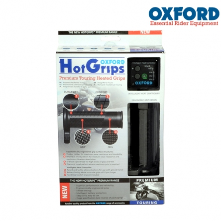 Gripy vyhřívané OXFORD HotGrips Premium Touring