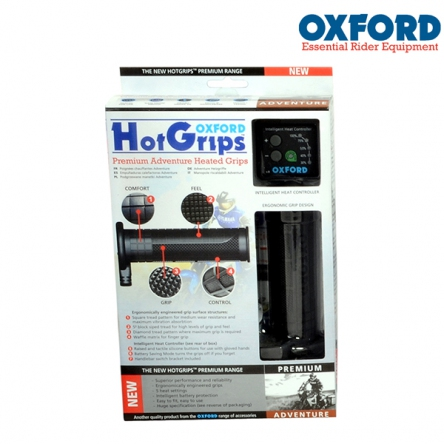 Gripy vyhřívané OXFORD HotGrips Premium Adventure