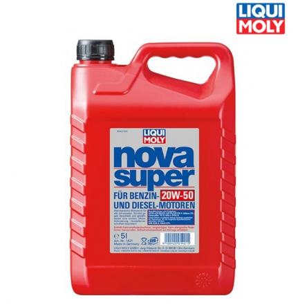 Motorový olej 4T 20W-50 NOVA SUPER - 5L