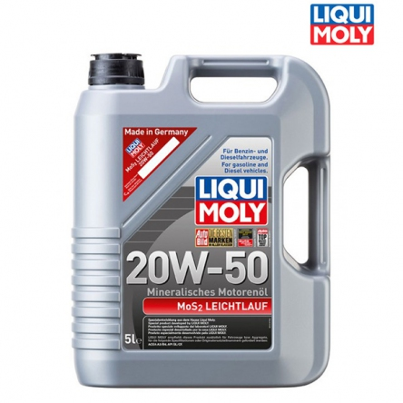 Motorový olej 4T 20W-50 MOS2 LEICHTLAUF - 5L