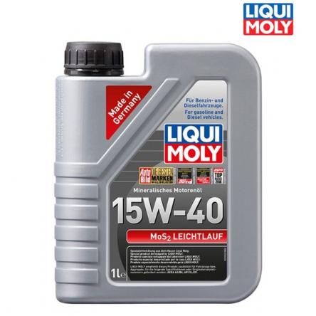 Motorový olej 4T 15W-40 MOS2 LEICHTLAUF - 1L