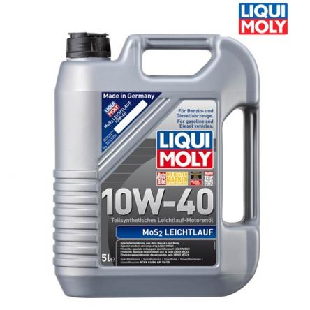 Motorový olej 4T 10W-40 MOS2 LEICHTLAUF - 5L
