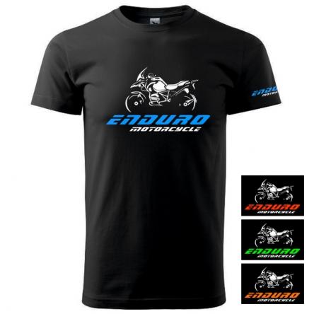 Moto Tričko ENDURO MOTORCYCLE pánské