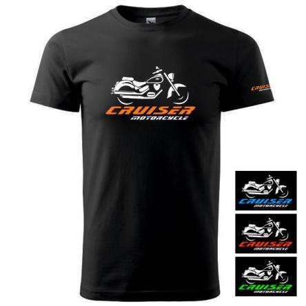 Moto Tričko CRUISER MOTORCYCLE pánské