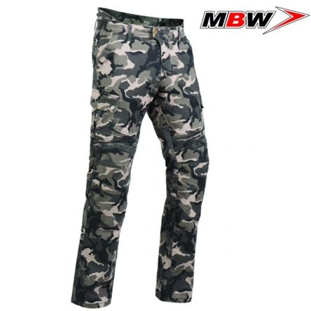 Kalhoty MBW CAMO PANTS