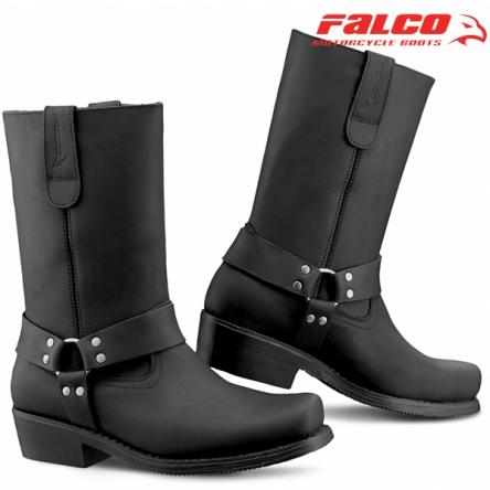 Boty FALCO 800 BIKER BLACK
