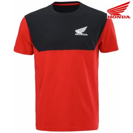 Tričko pánské HONDA RACING 20 black/red