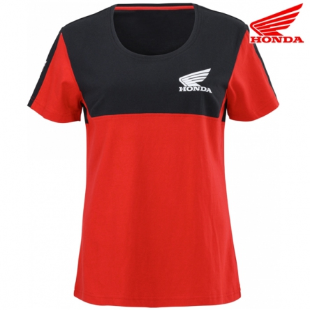 Tričko dámské HONDA RACING 20 black/red