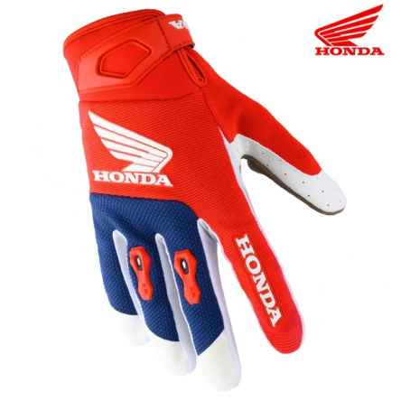 Rukavice HONDA MX 20 red/blue