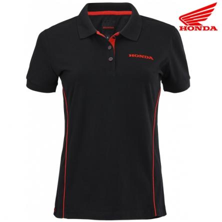 Polokošile dámská HONDA PADDOCK 20 black/red