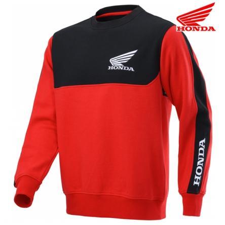 Mikina pánská HONDA RACING Sweat 20 black/red