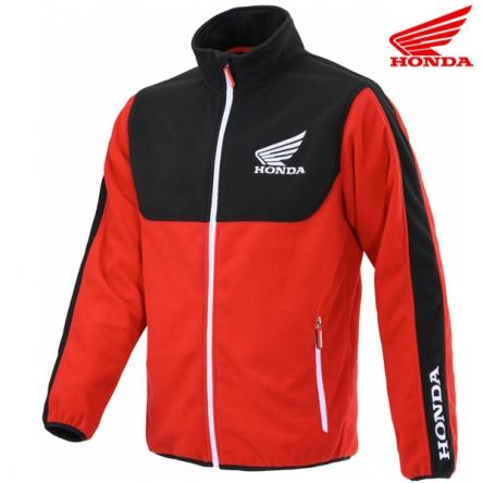Mikina pánská HONDA RACING Fleece 20 black/red