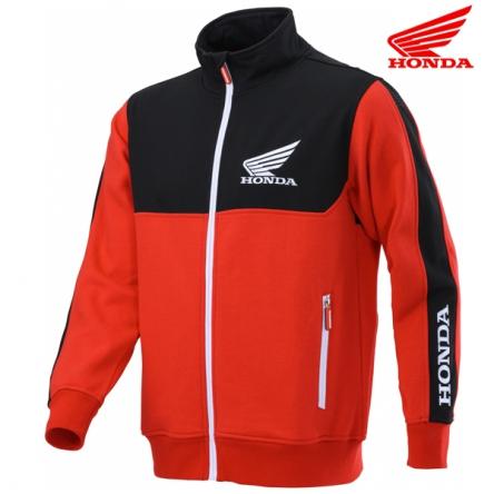 Mikina pánská HONDA RACING Cardigan 20 black/red