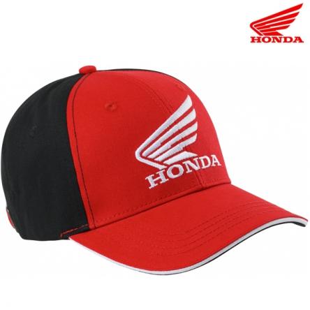 Kšiltovka HONDA RACING 20 červeno-černá