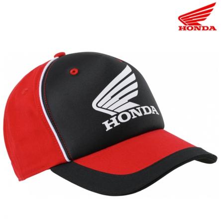 Kšiltovka HONDA DREAM 20 černo-červená
