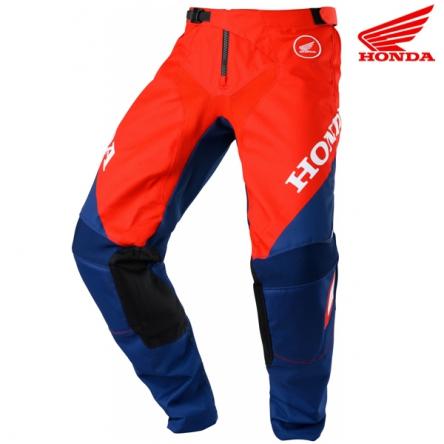 Kalhoty HONDA MX 20 red/blue