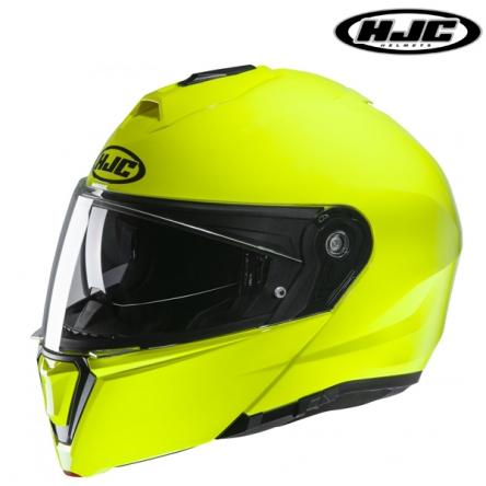 Helma HJC i90 FLUO GREEN