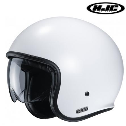Helma HJC V30 SEMI PEARL WHITE