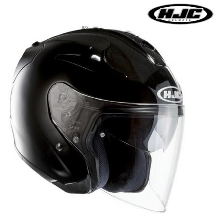 Helma HJC FG-JET BLACK