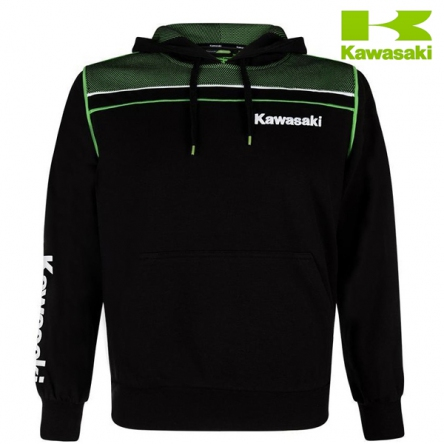 Mikina pánská KAWASAKI SPORTS Hoody black/green