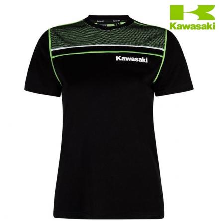 Tričko dámské KAWASAKI SPORTS black/green