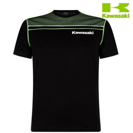 Tričko pánské KAWASAKI SPORTS black/green