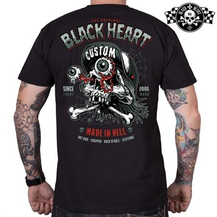 Tričko pánské BLACK HEART Full Punk