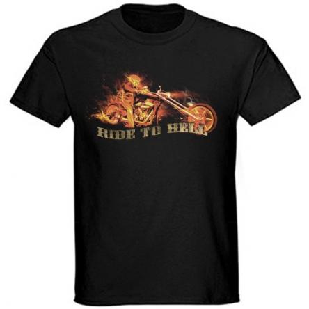 Tričko krátký rukáv - Ride to Hell I