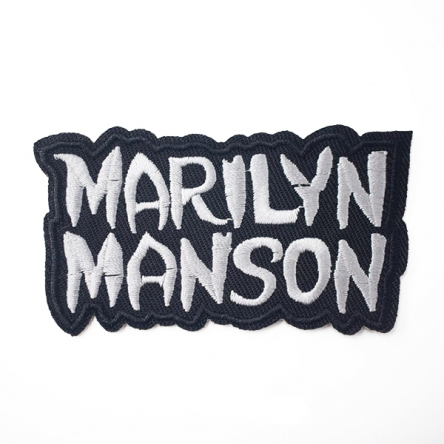 Nášivka Marilyn Manson malá