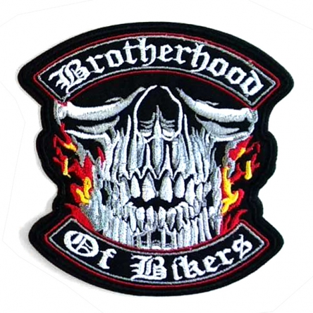Nášivka Brotherhood Of Bikers malá